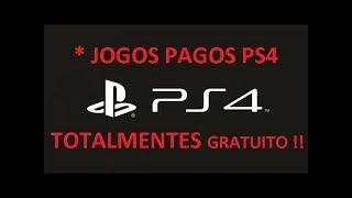 COMO BAIXAR JOGOS PAGOS DA PSN DE GRAÇA PS4 !