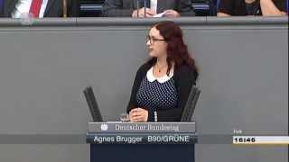 Rede Agnieszka Brugger zu den Beschaffungsplänen der Bundesregierung für Kampfdrohnen