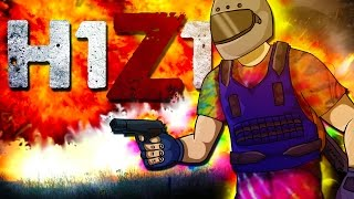 STUCK IN THE WALL!  (Battle Royale Funny Moments!)  H1Z1
