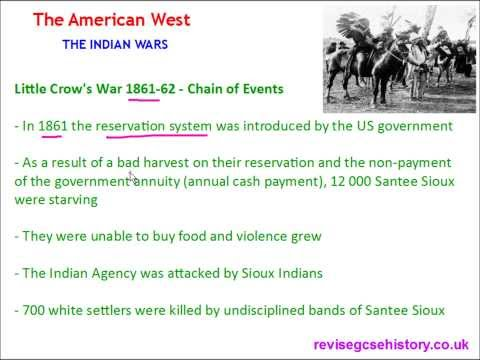 American West - The Indian Wars - Little Crow