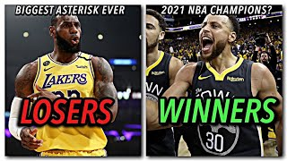 The Winners and Losers of the 2020 NBA Season