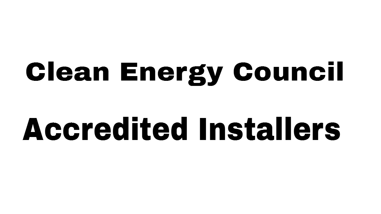 Clean Energy Council Accredited Installers Youtube