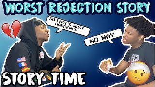 Storytimes In Quarantine Episode 1: WORST REJECTION STORY