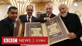 Ислом ва мусулмонлар: Европада мисли кўрилмаган масжид очилди - BBC Uzbek