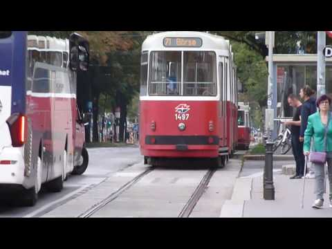 Trams in: Vienna, September 2017