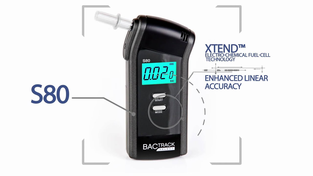 BACtrack S80 Breathalyzer Product Video -- Official Version