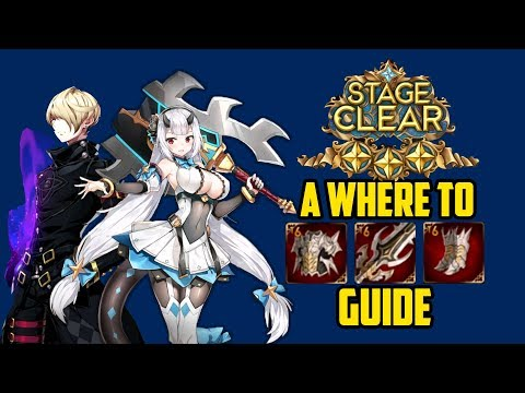 Epic Seven] Where to farm Equipment Guide for Beginners! : EpicSeven