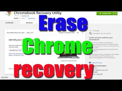 Erase Chrome Recovery Media on USB drive