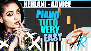ADVICE (Kehlani) VERY EASY Piano Tutorial / Cover SYNTHESIA + MIDI File