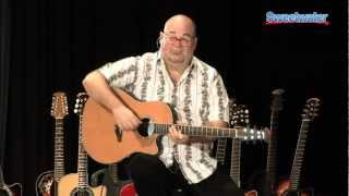Ovation Guitars Celebrity Series Acoustic-electric Guitar Demo - Sweetwater Sound
