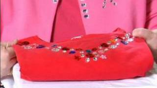 Decorating Clothes with Rhinestones : Testing Glue Durability for Fabric Crafts