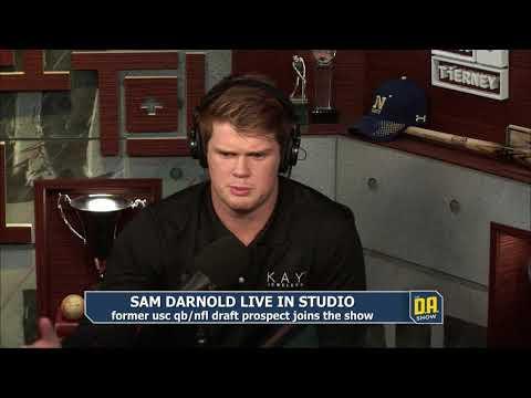 Sam Darnold joins WatchDA.com | CBS Sports Radio