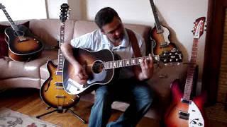 Gibson J 160 Epiphone EJ 160 comparison