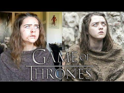 Arya Stark Blind Makeup | GAME OF THRONES | Cosplay