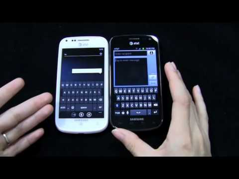 Samsung Focus 2 vs. Samsung Galaxy Exhilarate Dogfight Part 1