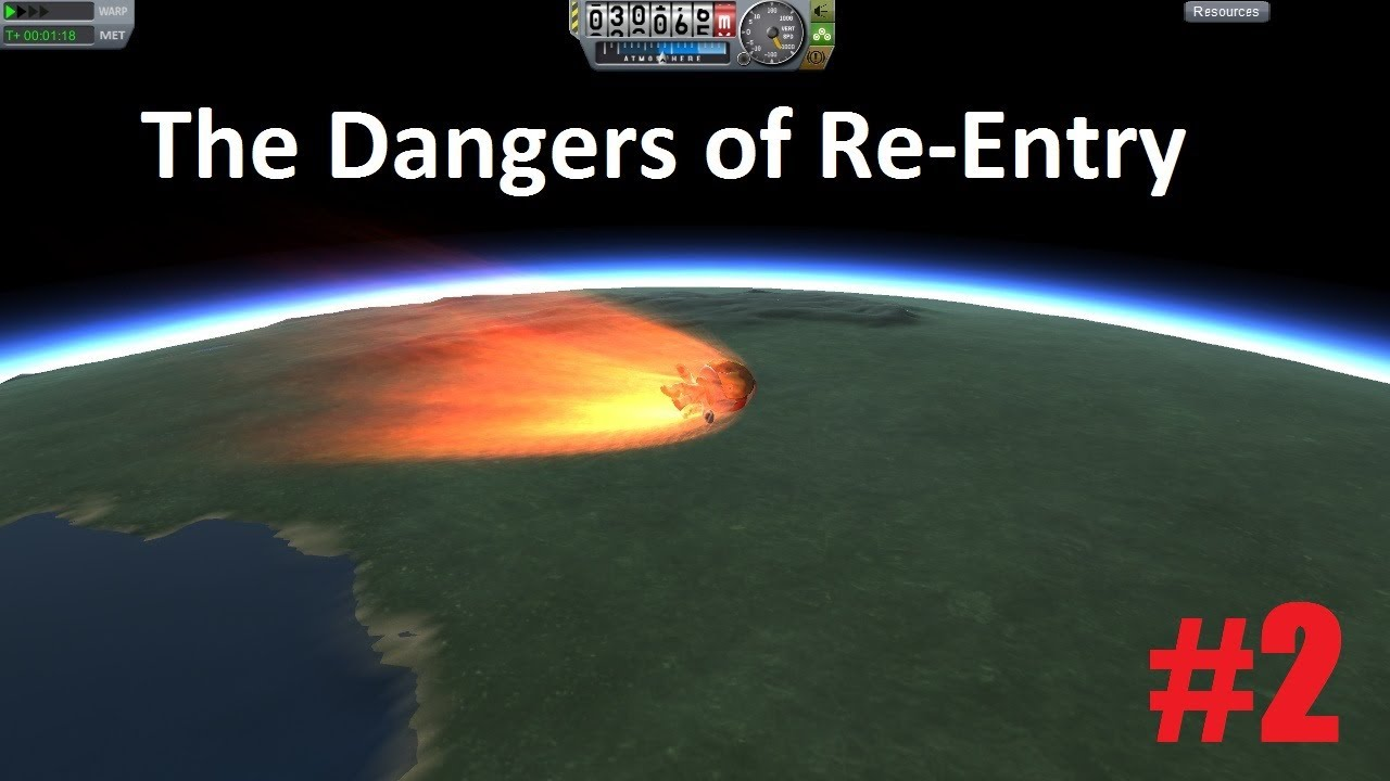 kerbal space program re entry - photo #2