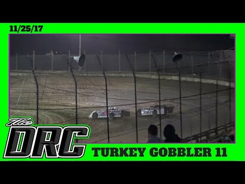 Moler Raceway Park | 11/25/17 | Turkey Gobbler | Late Models | Heat 3