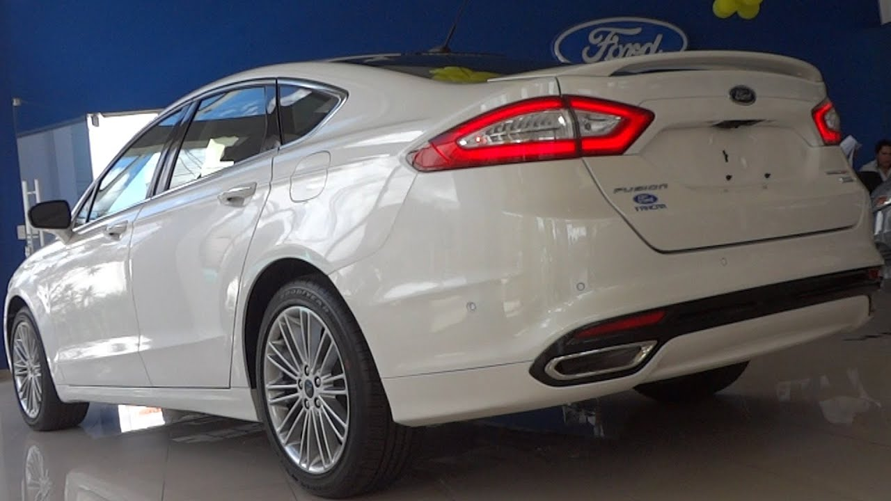 Showroom 2013 Novo Ford Fusion Titanium Ecoboost Awd Youtube