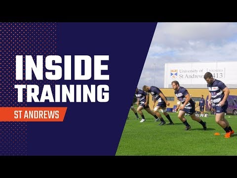 Inside Training | A week in St Andrews