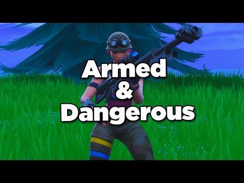 Fortnite Montage - Armed & Dangerous (Juice WRLD)