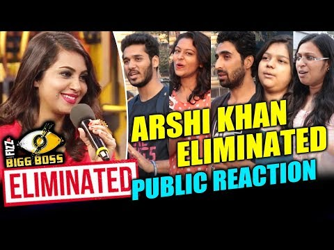 Arshi Khan ELIMINATED   Public Reaction   Bigg Boss 11   Was It Fair Or Unfair?