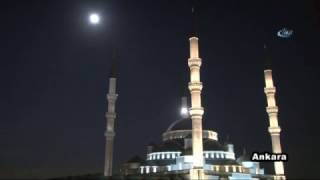 Türkiye'nin Süper Ay Keyfi