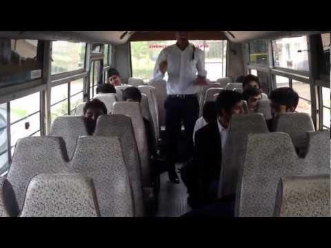 Harlem shake in the bus eisb bangalore!