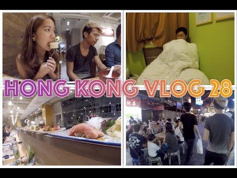 Hong Kong Vlog 28 ☁ Shika Teppanyaki Sushi, creepy hotel and Jordan area