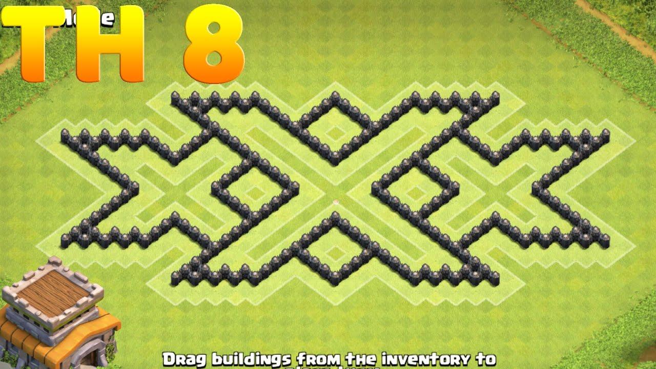 Base Coc Th 8 Triple X 7