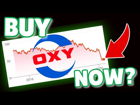 OXY Stock DESTROYED with Negative Oil Prices! Time to buy? Occidental Petroleum Stock Analysis 2020