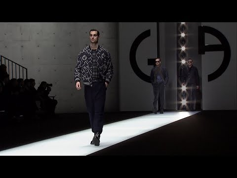 Giorgio Armani Fall Winter 2018-19 Men's Fashion Show