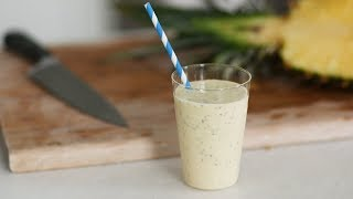 Pineapple-Coconut Chia Smoothie- Healthy Appetite with Shira Bocar