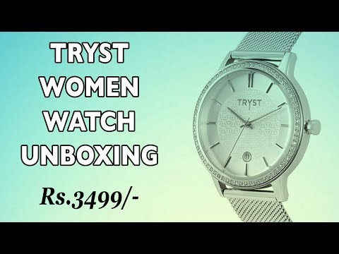 Tryst Women Watch By Fossil - Women Accessories - Women Watch Design, Review & Unboxing