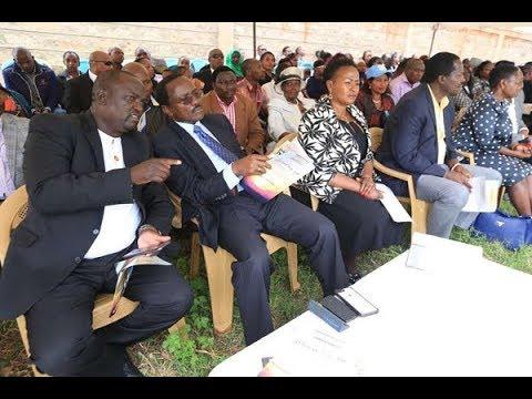Kalonzo Musyoka 'at peace' with Raila-Uhuru talks