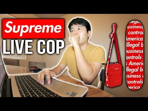 SUPREME LIVE COP S/S' WEEK 1! (Taking a W or an L?)