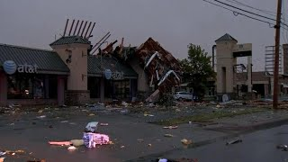 Tornado hits Tulsa with no warning