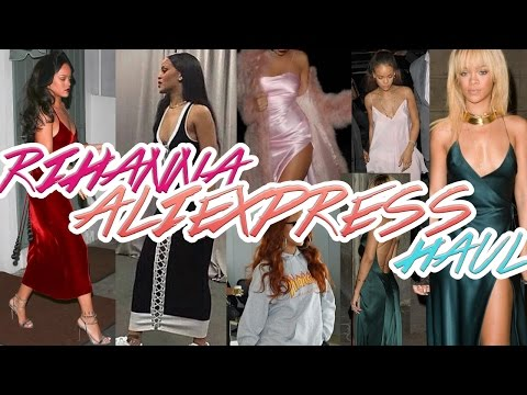 RIHANNA INSPIRED ALIEXPRESS TRY-ON HAUL   $10 AND UP // CHEAP AND AFFORDABLE DUPES