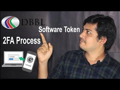 DBBL 2FA process - Software Token । Dutch Bangla Bank  A to Z