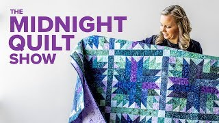 Fabric Flower Arranging with Bouquet Quilt Pattern | S7E8 Midnight Quilt Show with Angela Walters
