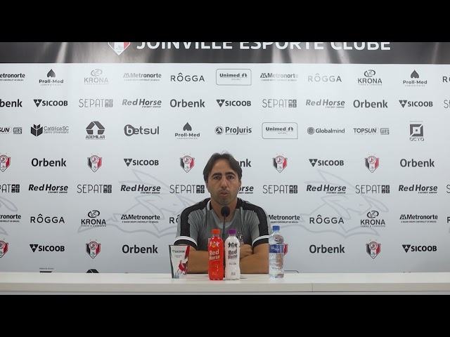 Coletiva com Leandro Zago antes de confronto com Juventus