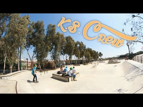 One day in Kfar Saba with the Crew
