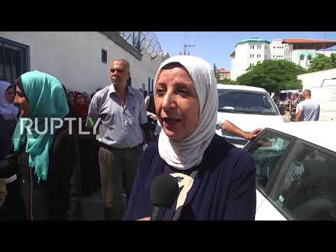 State of Palestine: UNRWA staff protest against job cuts in Gaza