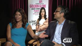 Interview with Andrea Navedo & Jaime Camil from Jane the Virgin