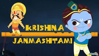 Story of Krishna Janmashtami | Krishna and Kans Story | Indian Mythology Stories by Mocomi Kids