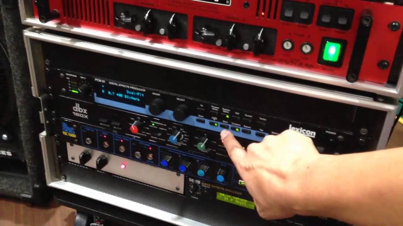 1990's style rack system sound check