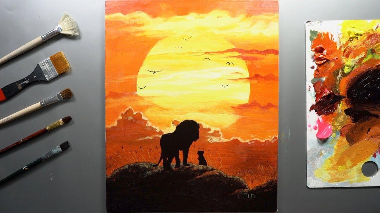 The Lion King Drawing Tim Art