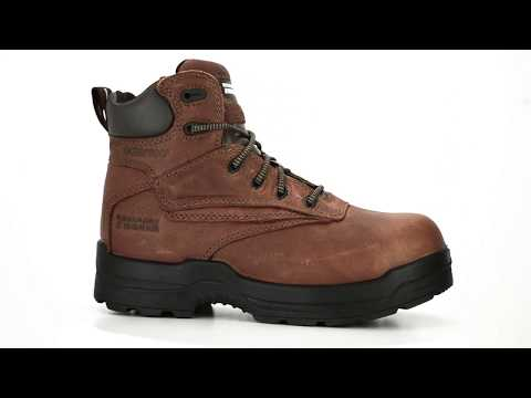 "Men's Rockport 6"" Composite Toe Waterproof Metal Free Work Boot RP6628 @ Steel-Toe-Shoes.com"