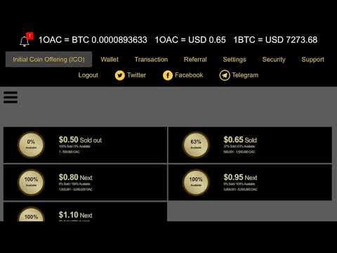 OACCoin Bad Signs! - OACLEND COIN - Buying 500+ TOKEN
