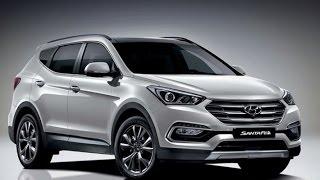 Обновленный Hyundai Santa Fe Facelift 2015 -2016 (Korea)