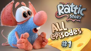 Funny Cartoon Compilation For Kids | Rattic  – All Episodes #1 | Funny Cartoons For Children & Kids